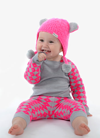 Appaman Kitten Hat - Hot Pink - FINAL SALE