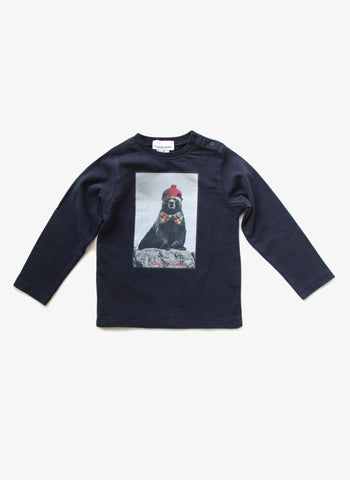 Arsene et Les Pipelettes Boys Polar Bear Tee - FINAL SALE - H15GT14