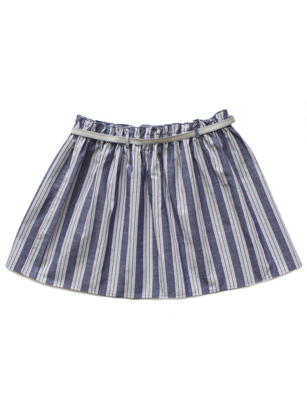 Babe & Tess Girls Pinstripe Skirt - RG 1 - FINAL SALE