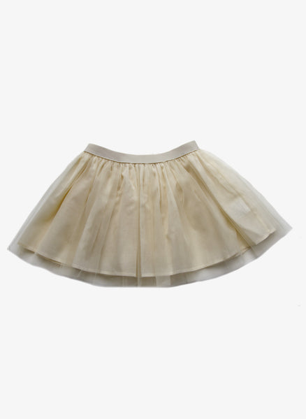 Babe Tess Girls Tutu Skirt - LUX 2 - Ecru - FINAL SALE