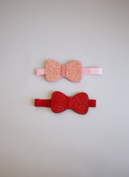 Bari Lynn Hello Kitty Crystallized Baby Bow Headband