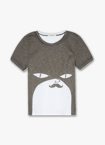 Billybandit Bandit with Mustache Tee - V25004/10B - FINAL SALE