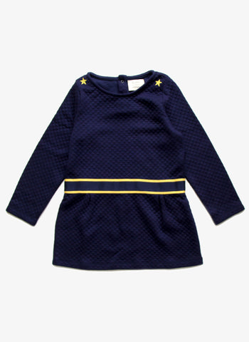 Blune Girls Quilted Sweatshirt Dress - SMSE1AMA - FINAL SALE