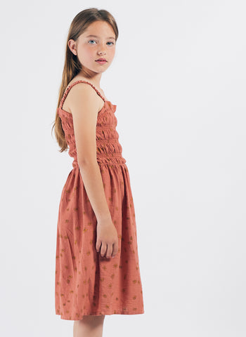 Bobo Chose All Over Daisy Smocked Dress - FINAL SALE