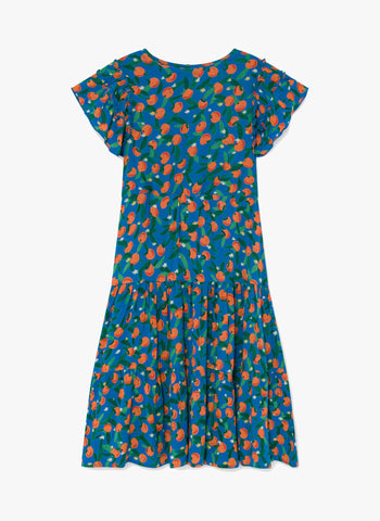 Bobo Chose All Over Oranges Flamenco Dress - FINAL SALE