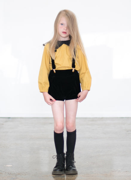 Carbon Soldier Anais Blouse - FINAL SALE