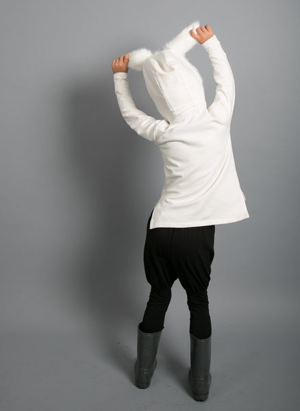 Carbon Soldier Hector's Hoodie - Ivory - FINAL SALE