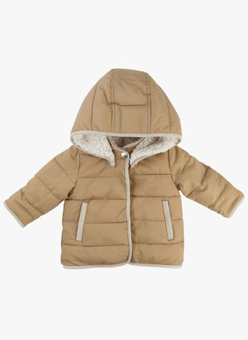 Chloe Baby/Kids Reversible Faux Fur Coated Hooded Coat - FINAL SALE