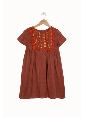 Derhy Kids Caramel Dress in Caramel - FINAL SALE