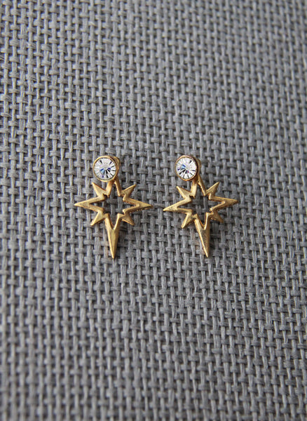Elizabeth Cole Jewelry Bri Earrings in Golden - H15E28