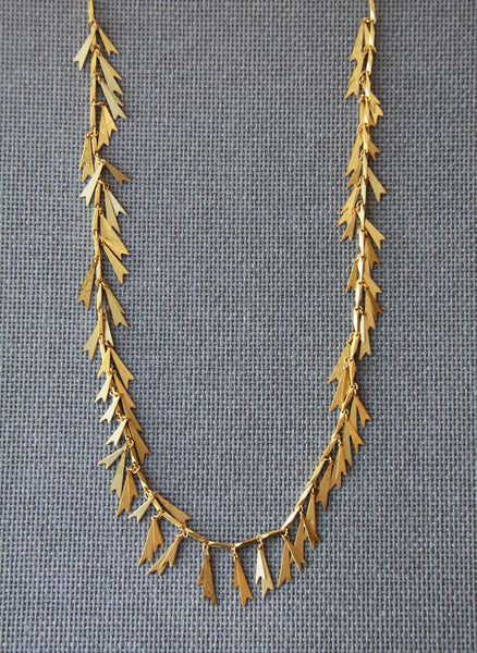 Elizabeth Cole Jewelry Golden Glow Necklace - S16N17