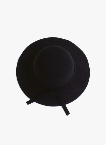 Elizabeth Cate Floppy Hat in Black