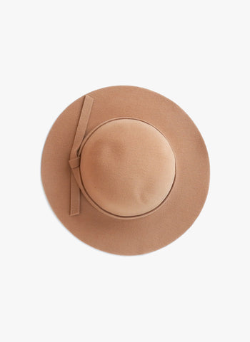 Elizabeth Cate Floppy Hat in Tan
