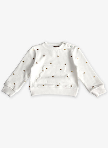 Emile et Ida Cloud Sweatshirt - F893B - Cream - FINAL SALE