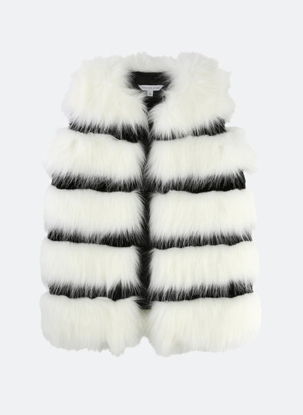 Little Marc Jacobs Faux Fur Gilet - FINAL SALE