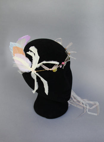 Girls Athena Feather Headband