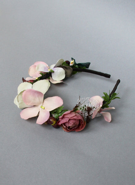 Girls Flora Flower Headband - Limited Quantities