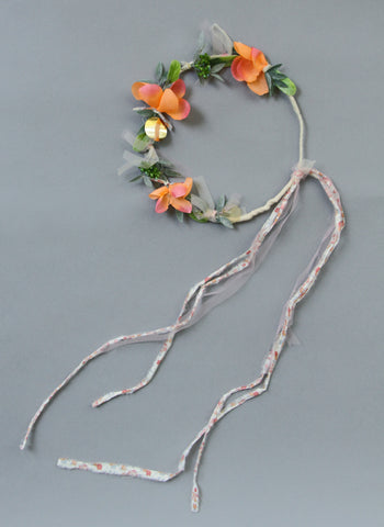 Girls Thalia Flower Wreath Headband