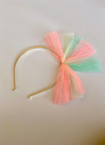 Girls Tulle Headband