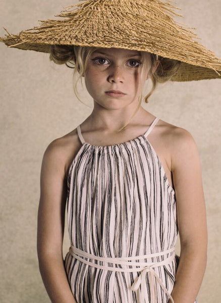 Little Creative Factory Bamboo Striped Apron Dress - FINAL SALE