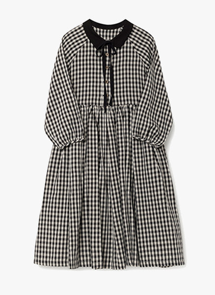 Little Creative Checked Dress - FINAL SALE