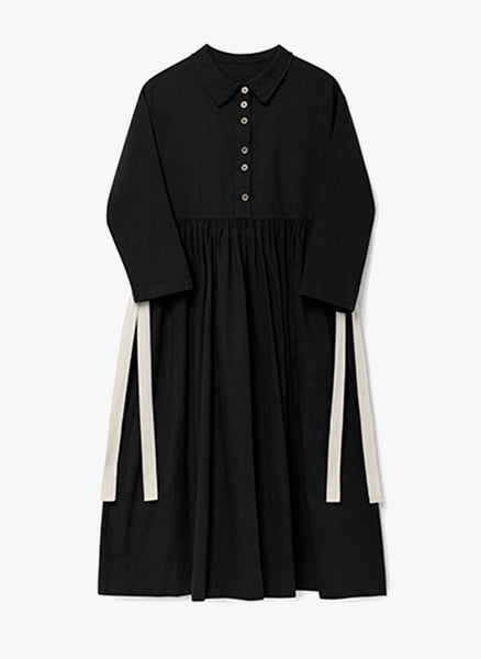 Little Creative Horizon Dress in Black