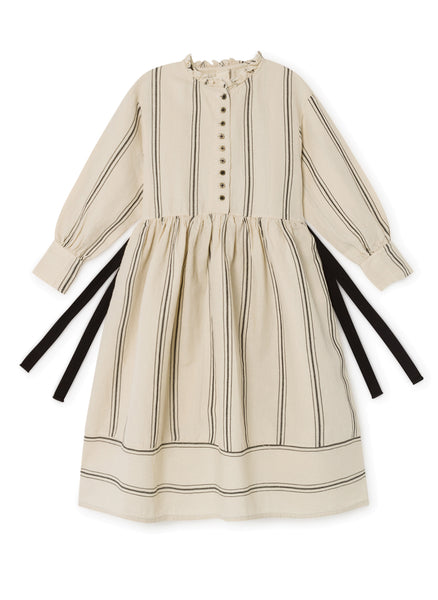 Little Creative Factory The Makers Stripes Dress in Cream
