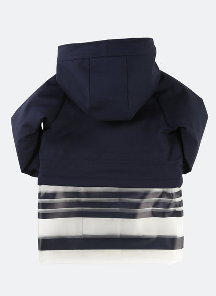 Little Marc Jacobs Bi-color Hooded Parka - FINAL SALE