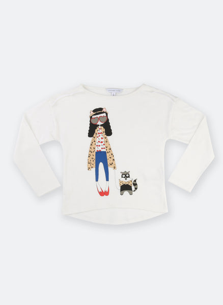 Little Marc Jacobs Long Sleeve Essential Miss Marc Tee Shirt - FINAL SALE