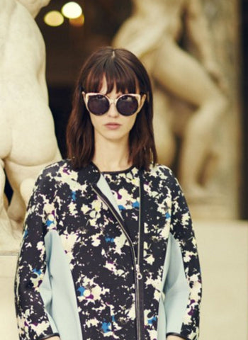 Linda Farrow X Erdem  Cat Eye Tortoise Shell Sunglasses - FINAL SALE