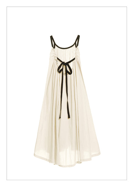Little Creative Ballet Sun Dress in Ivory - FINAL SALE