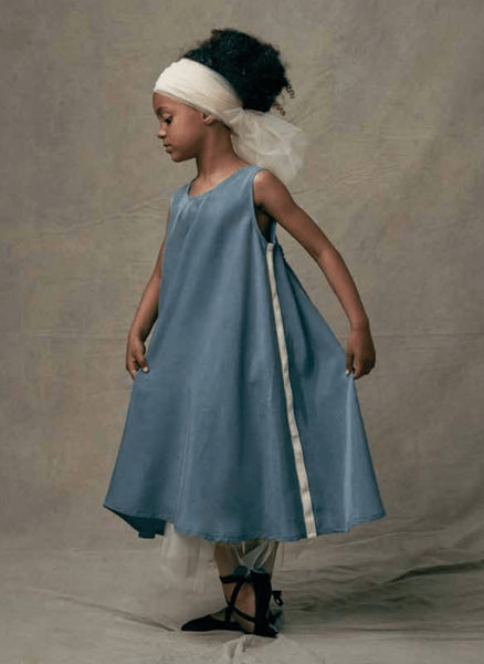 Little Creative Factory Jazz Dress in Sky - FINAL SALE