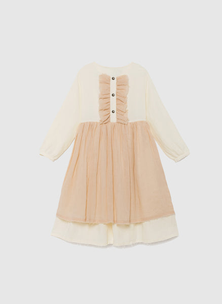 Little Creative Factory Nicole's Ruffled Dress in Ivory