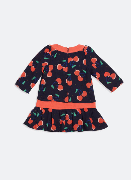 Little Marc Jacobs Baby Cherry Printed Dress - FINAL SALE