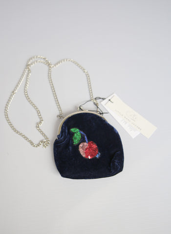 Little Marc Jacobs Velvet Sequin Cherry Ceremony Purse - FINAL SALE