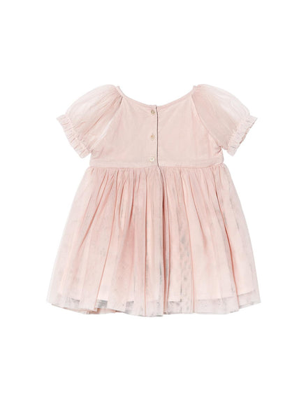 Tutu Du Monde Baby Girl Liv Tutu Dress in Tea Rose