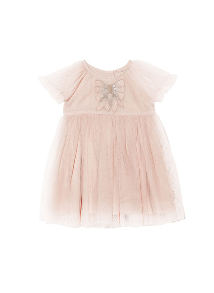 Tutu Du Monde Baby Girl Liv Tutu Dress in Tea Rose - FINAL SALE