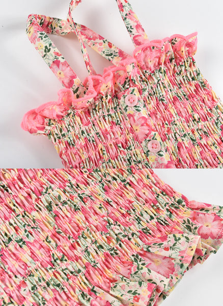 Louise Misha Malika Top in Pink Meadow