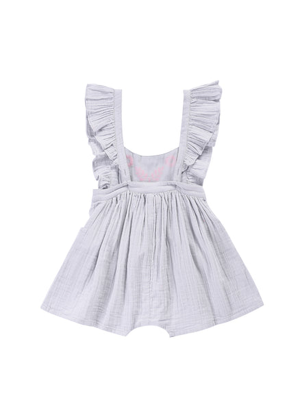 Louise Mischa Clara Overall in Silver Blue - FINAL SALE
