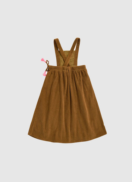 Louise Misha Arely Dress in Camel - FINAL SALE