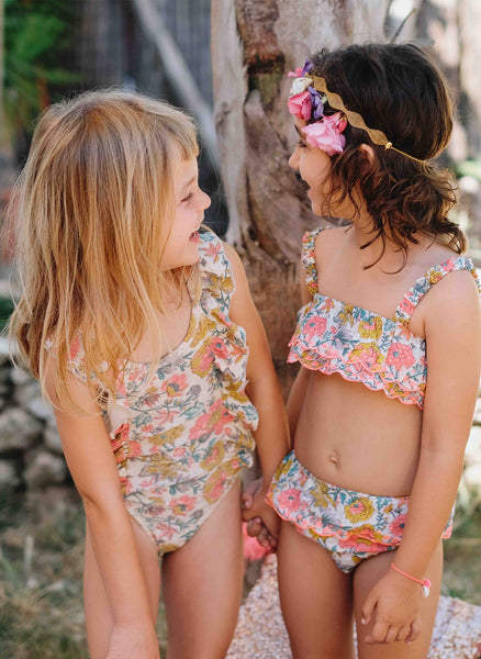 Louise Misha Caribbean Bikini in Multi Flowers