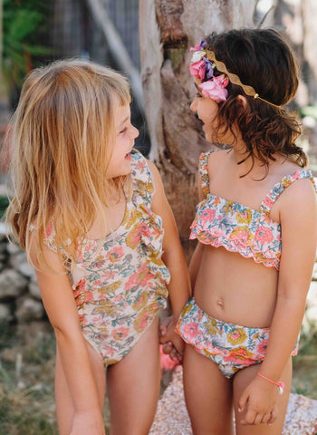 Louise Misha Caribbean Bikini in Multi Flowers - FINAL SALE