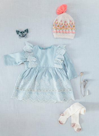 Louise Misha Hermalia  Dress in Cloud