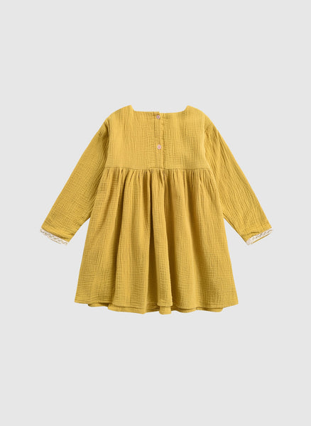 Louise Misha Jahaira Dress in Honey - FINAL SALE
