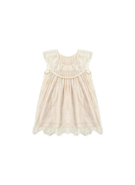Louise Misha Mily Dress in Cream - FINAL SALE