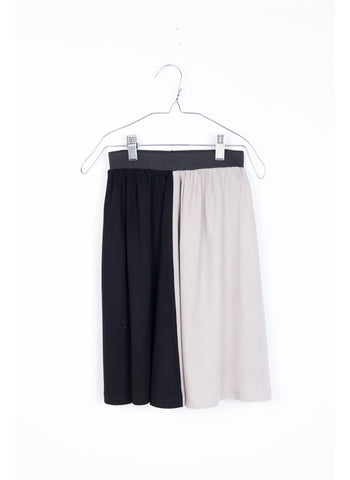 MOTORETA Ana Skirt in Black/Green/White/Taupe - FINAL SALE
