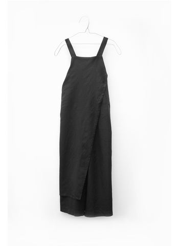 MOTORETA Leia Overall in Black - FINAL SALE