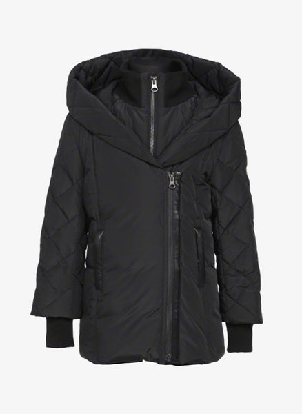 Makage Girls Yana Down Coat with Quilted Sleeves