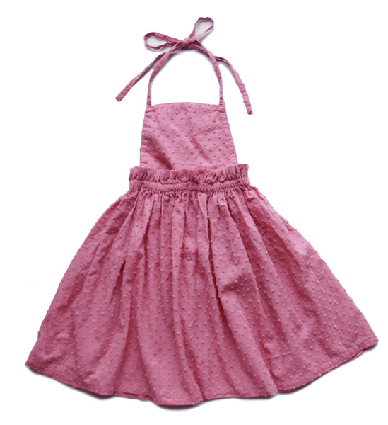 Vierra Rose Makayla 2fer Dress in Mauve - FINAL SALE