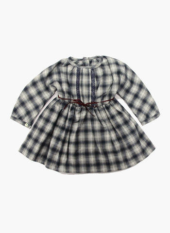Message in the Bottle Baby Girl Agnes Empire Dress - FINAL SALE
